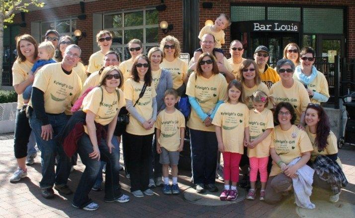 We walk for Kyleigh ~ Kyleigh's Gift Team 2013