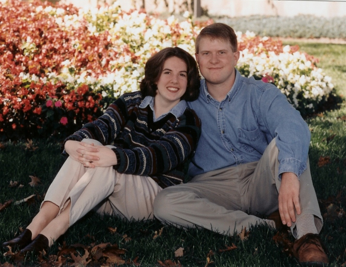 Engagement Photo - Rodger & Leann, 1999