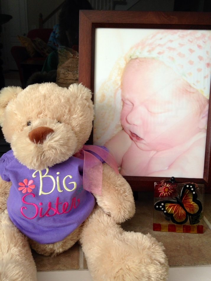 Kyleigh's Bear ~ Big Sister