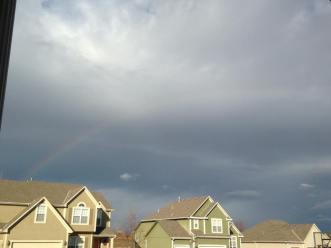 January 2017 rainbow